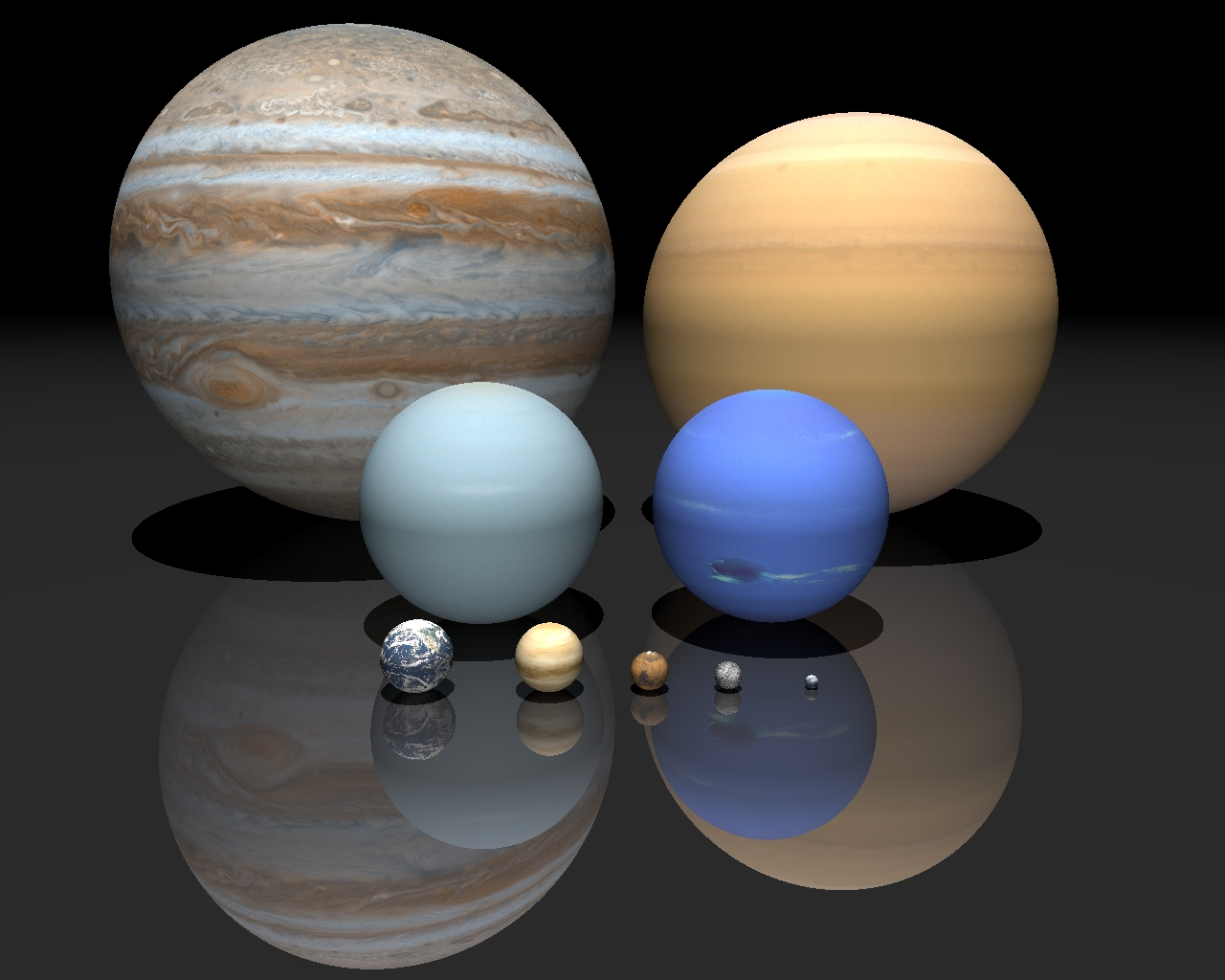 how big is venus compared to other planets - photo #27