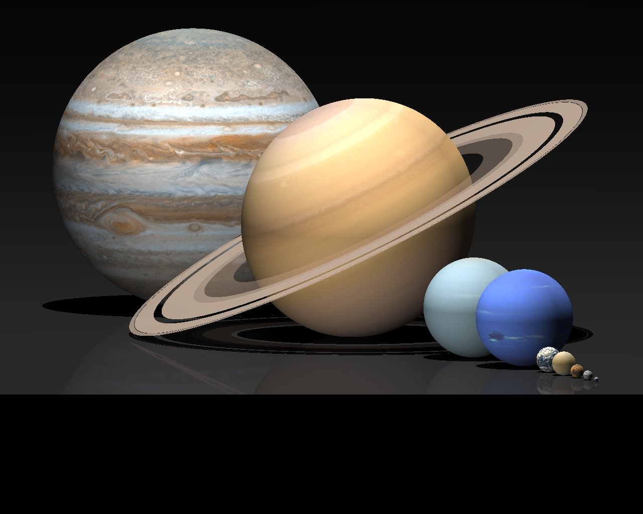 how big is venus compared to other planets - photo #16
